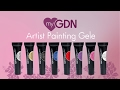 Video myGDN Artist Painting Gel silver glimmer 5ml