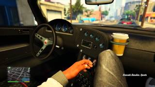 Grand Theft Auto V 5 Next Gen First Person Mode Gameplay Xbox One PS4 4K