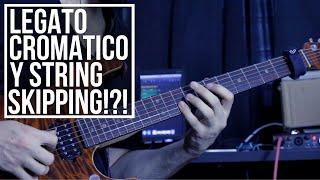 Legato Cromático con String Skipping?!? | Inspirado en Tom Quayle