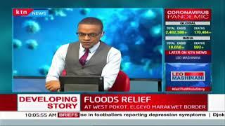 Relief efforts underway following landslides and floods in Elgeyo Marakwet County