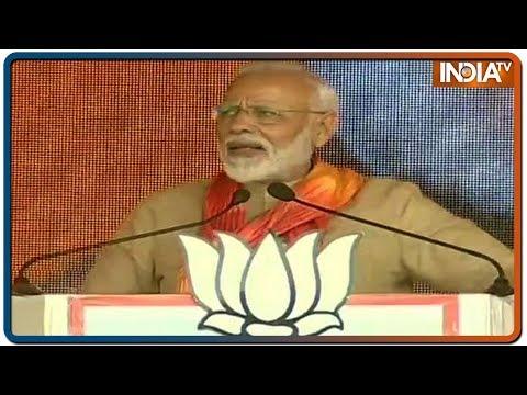 'Bangkok, Vietnam' PM Modi spotlights Rahul's foreign tour in Haryana Poll speech
