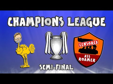 🏆LIVERPOOL vs ROMA!🏆 (Champions League Semi-Final 2018 5-2)
