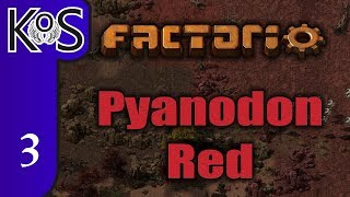 Factorio Pyanodon Red Ep 1: HARSH NEW PLANET! - 0 16