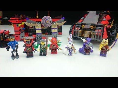 Lego - Ninjago - 70750 - Mobile Ninja-Basis - Review Deutsch