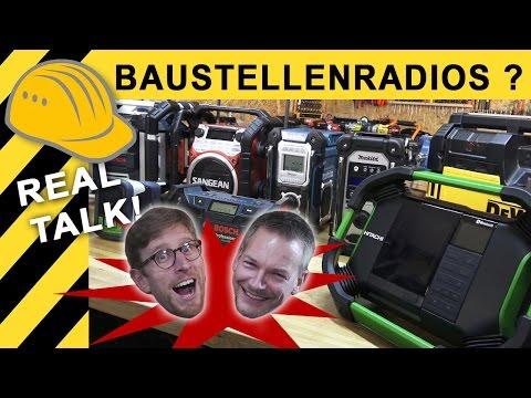 BESTES BAUSTELLENRADIO? TEST, KAUFBERATUNG & VERGLEICH | Makita, Bosch, Festool, DeWalt Radio
