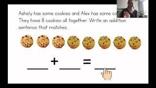 Write Addition Number Sentences: Friday Math