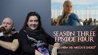 """Hogwarts Reacts: Game of Thrones S03E04 - """"And Now His Watch Is Ended"""""""