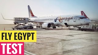 Fly Egypt Airline test | Service & Quality flight review | Hurghada