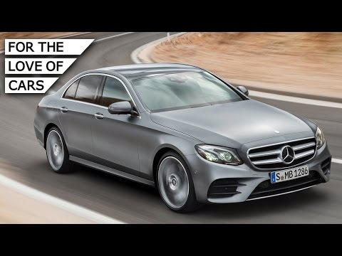 All-New Mercedes-Benz E-Class: Quiet Tech Express – Carfection