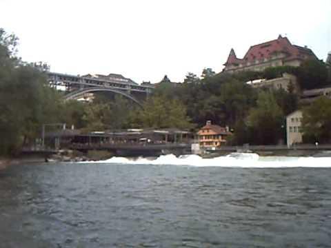 De rivier de Aare