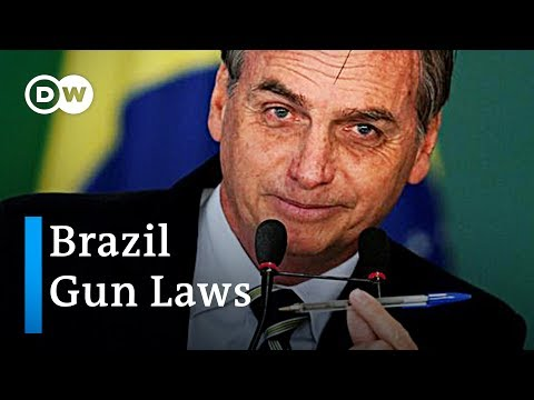 Brazil eases gun restriction laws | DW News