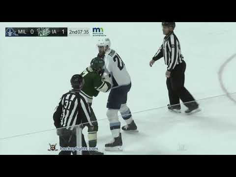 Mike Liambas vs. Jarred Tinordi