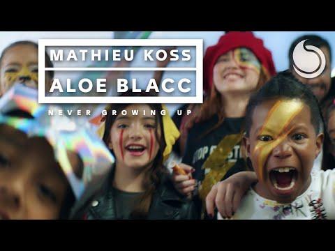 Mathieu Koss & Aloe Blacc - Never Growing Up (Official Music Video)