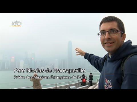 Hong Kong : la nouvelle vie d'un jeune prêtre missionnaire