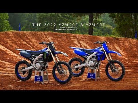 2022 Yamaha YZ450F Monster Energy Yamaha Racing Edition in Ishpeming, Michigan - Video 1