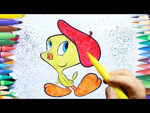 Tweety Boyama Tweety Nasıl Boyanır Coloring Tweety смотреть