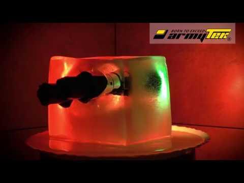 Заморозка фонарей Armytek Predator Green и Dobermann Red
