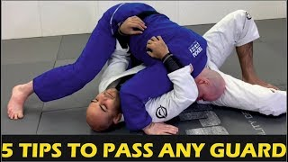 5 Tips To Pass ANY Guard by John Danaher