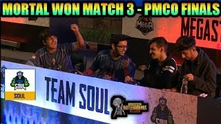 PMCO FINAL INDIA MATCH 3 HIGHLIGHTS | SOUL MORTAL WON
