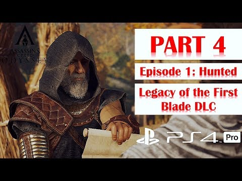 Assassin's Creed Odyssey Walkthrough No Commentary Legacy of the First Blade DLC Episode 1 Part 4