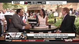 First Take - Spurs Win Championship!