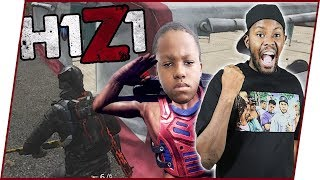 HE'S ALWAYS PUTTING ME IN BAD SITUATIONS!! - H1Z1 King Of The Kill Ep.16