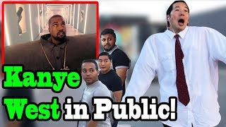 "KANYE WEST, LIL PUMP   ""I Love It""   SINGING IN PUBLIC!!"