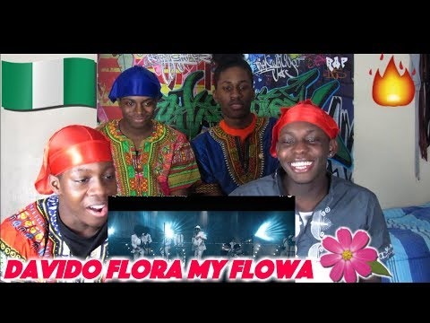 Davido - Flora My Flawa (Official Video) - (Best African Artist) - REACTION!!