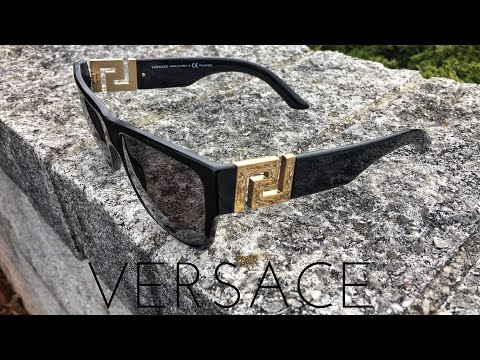 Versace Sunglasses Unboxing and Review