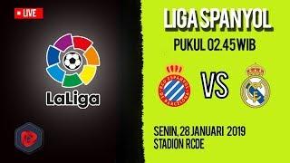 Jadwal Pertandingan dan Live Streaming Espanyol Vs Real Madrid di HP via MAXStream beIN Sport