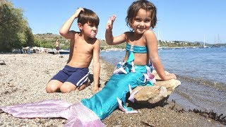 Fındık Ailesi.  Denizkızı Dönüşüm Maceraları. Çocuk Oyunları