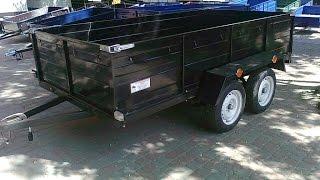 грузовой двухосьный прицеп для легковых авто