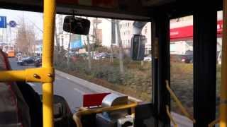 preview picture of video 'Autobusem na dworzec kolejowy w Qingdao'