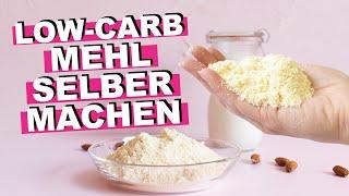 MANDELMEHL SELBER MACHEN, DIY Mandelmehl & Mandelmilch (Low-Carb Mehl, Brötchen Rezept)