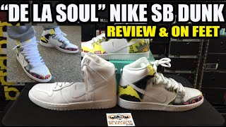 "Nike SB Dunk High ""De La Soul"" (PRM DLS) & On Feet"