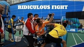 HD Ridiculous Epic Fight Angry Players (Djokovic,Nadal,Federer,Murray,Monfils)