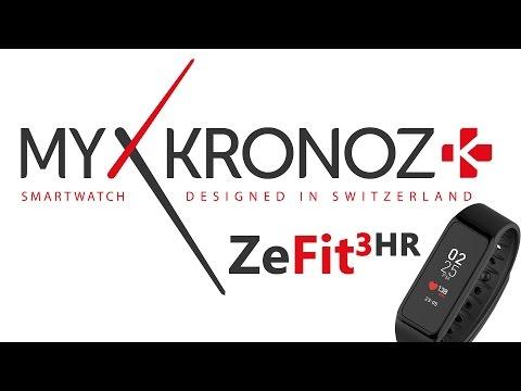 MyKronoz Zefit3 HR unboxing