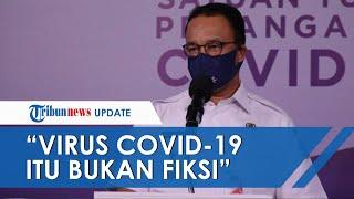 Anies Baswedan Lihat Jenazah Pasien Covid-19 di RS Cengkareng, Sebut Virus Itu Bukan Sekedar Angka
