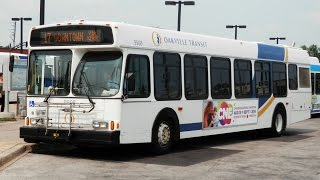 preview picture of video 'A Ride on Oakville Transit 9908'