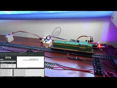 DCC++, Arduino Mega - Magneet sensor TLE4905L - смотреть