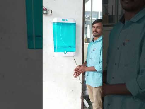 Automatic Hand Sanitizer Dispenser.