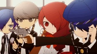 Persona Q   P3 And P4 Cast Getting To Know Each Other