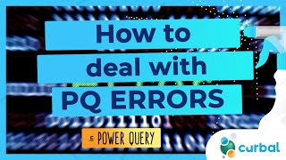How to deal with errors in Power Query (2 ways)
