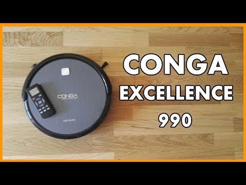 ▋CONGA EXCELLENCE 990 ▶ ANÁLISIS FREGANDO Y BARRIENDO ▶ OPINIONES