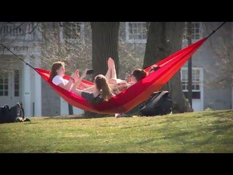 Dickinsonians Enjoying the Warm Weather
