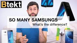 Samsung Galaxy J3, J5 2016 vs A3, A5 2017... what
