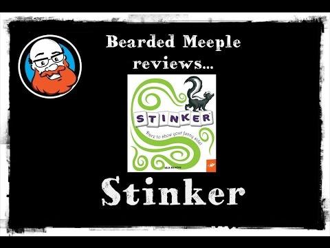 Bearded Meeple reviews : Stinker