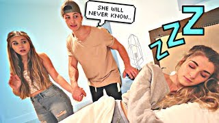 SNEAKING OUT OF THE HOUSE WITH ANOTHER GIRL IN THE MIDDLE OF THE NIGHT PRANK!!