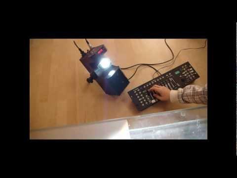 Test und Check zum Eurolite ts-2 DMX Scanner [HD]