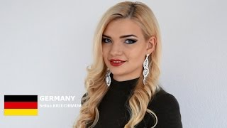 Selina Kriechbaum Contestant from Germany for Miss World 2016 Introduction